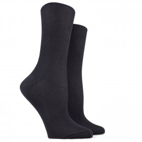 Non-elasticated top Dore Dore black socks
